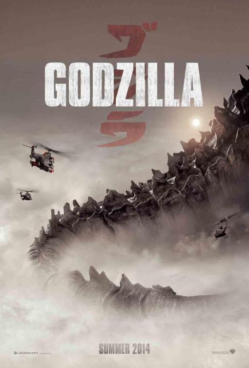 Godzilla 2014 Poster 2