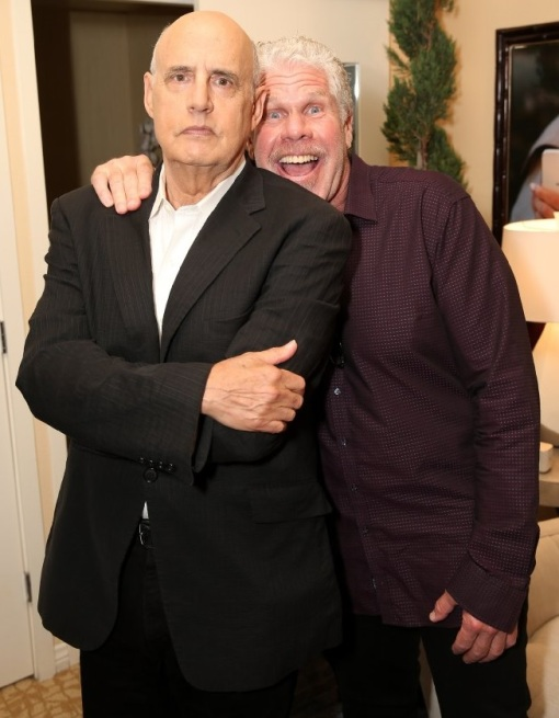 Jeffrey Tambor and Ron Perlman
