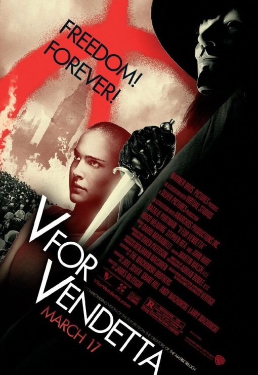 V for Vendetta (Warner Bros. - 2006)